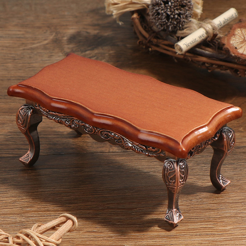 1//12 Dollhouse Miniature Mini Wooden Coffee Table Simulation Table Furniture