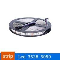 Led Streifen 3528 5050 12V 5M Flexible Hause Dekoration Beleuchtung Wasserdichte LED-Band RGB/Weiß/Warm weiß/Blau/Grün/Rot