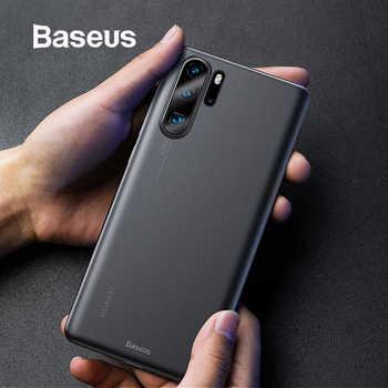 Étui pour Huawei en plastique Baseus P30 P30 Pro Coque arrière Super mince Coque pour Huawei P30 P30Pro housse de téléphone noir Funda Coque