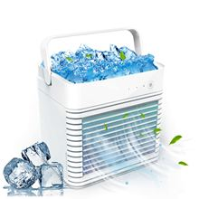 Mini Air Conditioner Air Cooler Fan Light Portable Air Conditioner 3 Gear Personal Space Air Cooling Fan Dropship 4000mAh