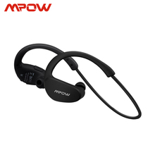 Mpow الفهد MBH6 2nd جيل سماعة لاسلكية تعمل بالبلوتوث 4.1 سماعات مع هيئة التصنيع العسكري الأيدي الحرة دعوة AptX سماعة أذن تستخدم عند ممارسة الرياضة للهواتف الذكية