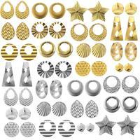 10 Uds colgante de acero inoxidable hechos a mano encantos pendientes COLLAR COLGANTE para la fabricación de la joyería DIY resultados