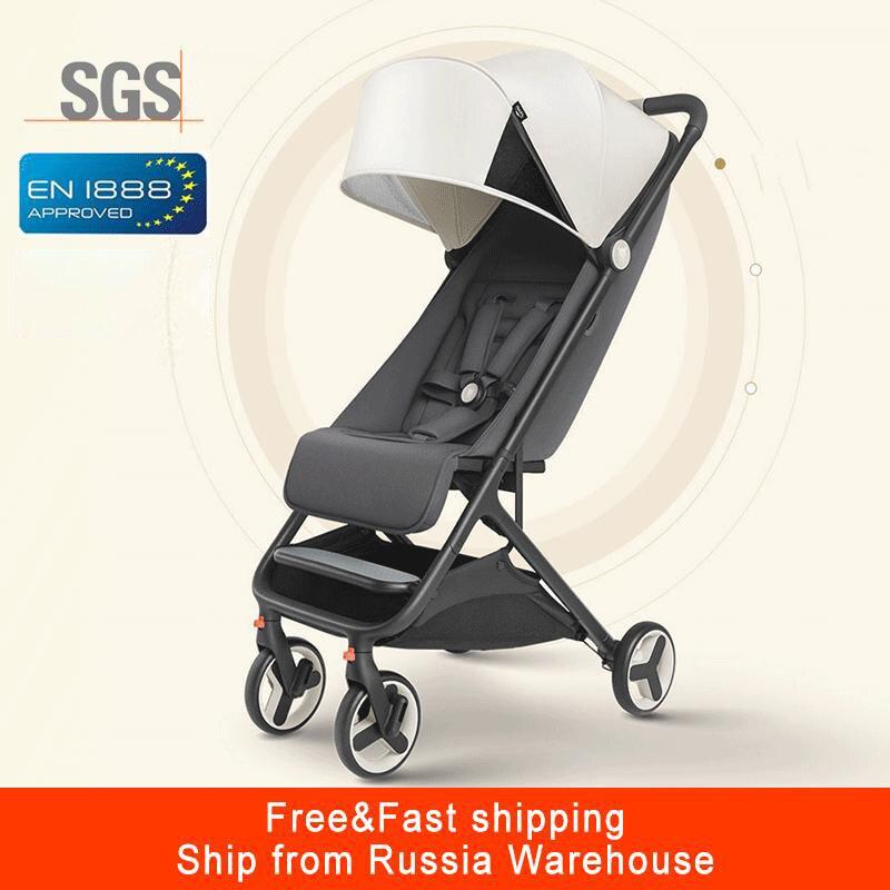 Mitu carrinho de bebê avião leve portátil viajar crianças carrinho dobrável adequado 4 estações para o miúdo