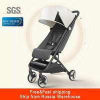 Mitu cochecito de bebé avión ligero portátil viaje cochecito para niños cochecito plegable adecuado para 4 estaciones para chico
