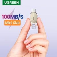 UGREEN USB C lettore di Schede di TF Micro SD Tipo C 3.0 OTG lettore di Schede di Memoria Adattatore per Samsung Huawei MacBook micro lettore di Schede SD