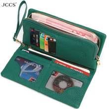 Jccs дизайнерский кошелек модный женский дневной клатч из натуральной
