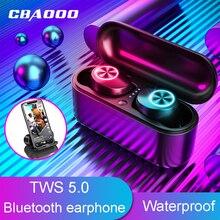 CBAOOO TX29 TWS Bluetooth Earphones 5.0V Stereo Sport Wireless Earbuds Noise Cancel Game Headset Waterproof headphone