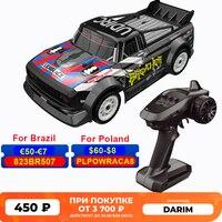 Coche de carreras a Control remoto SG1604 1:16 2,4G para niños, coche de carreras 4WD, 80m, coche de Control remoto cepillado todoterreno, vehículos de conducción, juguetes para niños