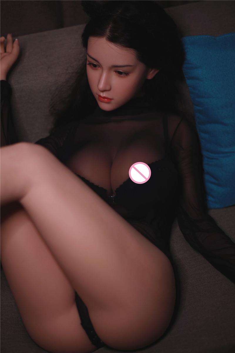 H0ed35370fecd42a58a7330fcf56f77c4T Muñecas sexuales de silicona Real para hombres adultos, Robot de amor de Anime japonés de 158cm, juguetes realistas de vida para hombres, con pecho grande y completo, Vagina y atractiva