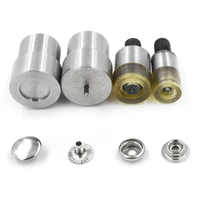 10mm/12.5mm/15mm snaps mold. Hand pressing button machine. Prong Snaps mold. Button installation tool. Metal rivets molds.