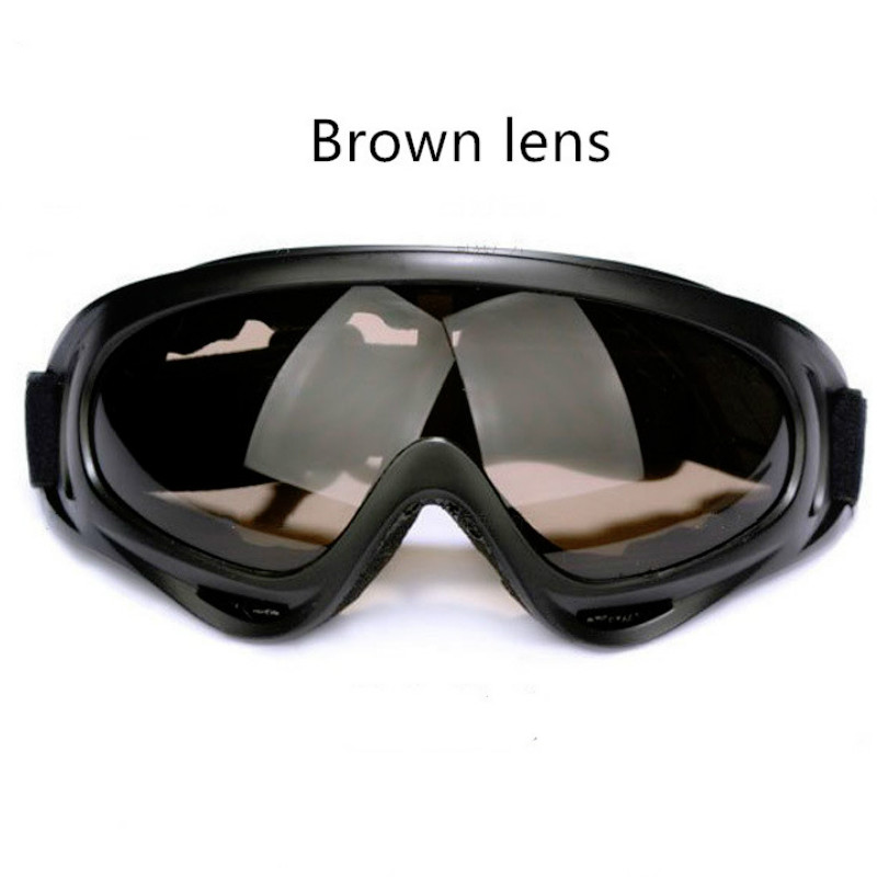 Outdoor Skiing Sport Eyewear Glasses UV400 Safety Anti-UV Welding Glasses For Work Protective Windproof Tactical Labor