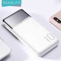 KUULAA-Cargador portátil de 10000mAh, batería portátil, cargador USB externo, cargador de batería de 36W para Xiaomi MI 9 8 Huawei, USB tipo C, batería de polímero de litio