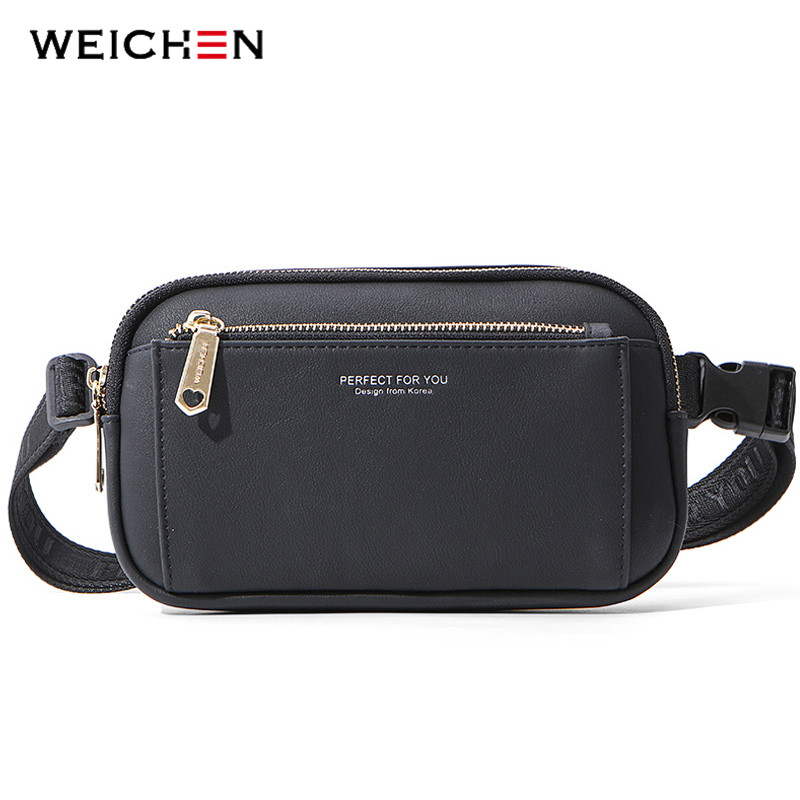 WEICHEN Big Capacity Women Fanny Pack Multi-function Crossbody Waist Chest Bag Ladies Belt Bag Bum Pochete Sac Female Waist Pack