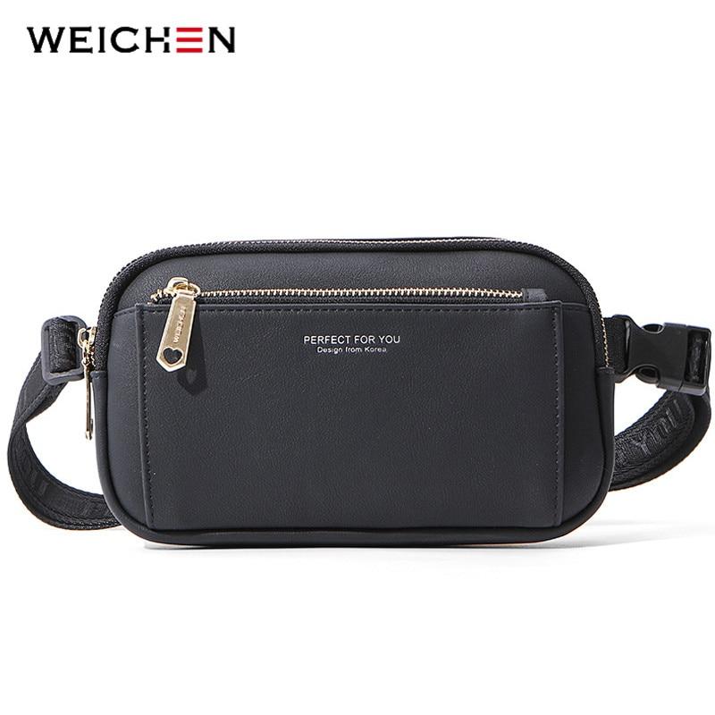 WEICHEN Big Capacity Women Fanny Pack Multi-function Crossbody Waist Chest Bag Ladies Belt Bag Bum Pochete Sac Female Waist Pack