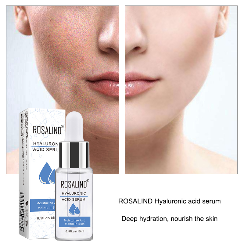 ROSALIND Face Serum Hyaluronic Acid For Face Serum Anti-Aging Wrinkle Deep Repair Skin Essence Black Dots Whitening Skin Care