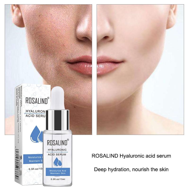 ROSALIND Face Serum Hyaluronic Acid For Face Serum Anti-Aging Wrinkle Deep Repair Skin Essence Black Dots Whitening Skin Care