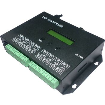 Programmable Controller RGBW Strip Led Controller RGB Pixel Controller PC Artnet DMX Controller DMX512 Controlador EU Plug