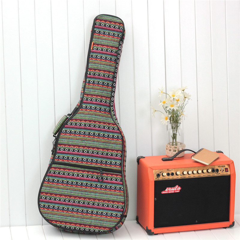 High Quality Waterproof Thicken Guitar Bag 41 Inch Double-shoulder Electric Guitar Case 40 Inch Classical Guitar Parts