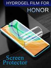 For Honor 8X 9X Soft Hydrogel Film For Huawei Honor 9i 10i 20i 30s Lite Screen Protector For Honor X10 Pro Max 6X Full Screen