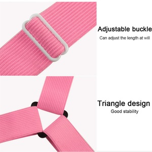 Image 2 - Hot 4pcs/set Elastic Bed Sheet Clips Suspenders Straps Adjustable Heavy Duty  For Home Bed Sheet Clips