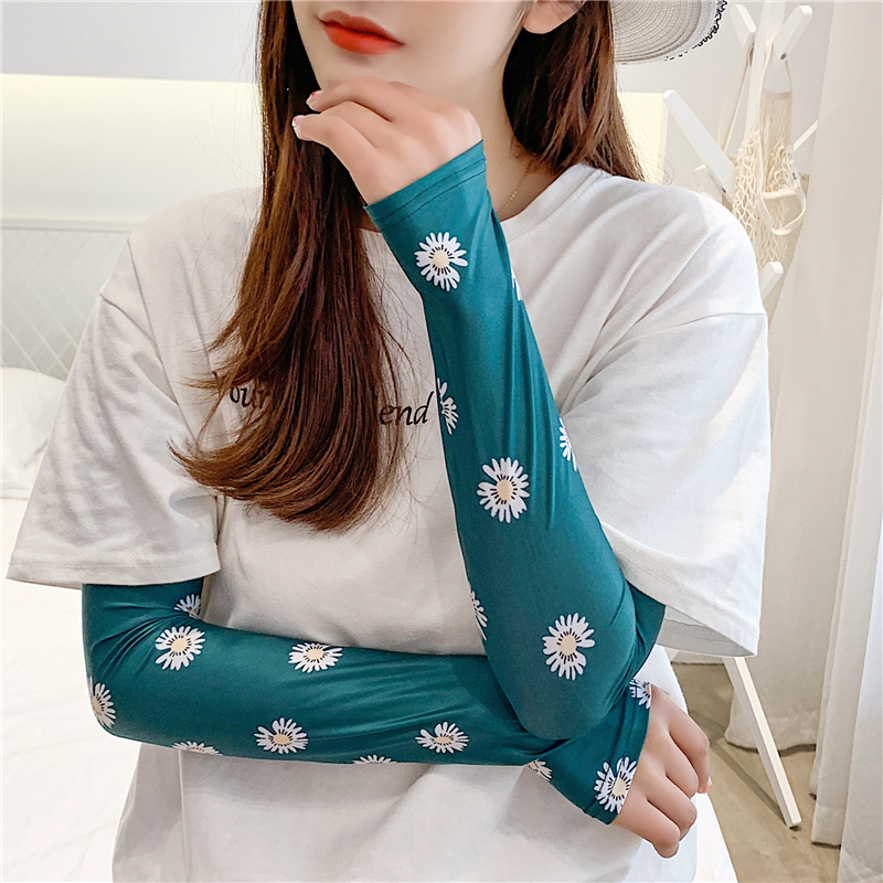 New Summer Arm Sleeves Fashion Lady UV Sun Protection Sleeve Arm Warmers Slimmer Shapers Wrist Cuffs Women Accessories 2020