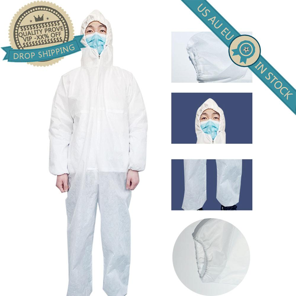 Dust Static Electricity Protection Beekeeping Jumpsuit Hood Painting Chemical Body Suits Rop Oil Resistant Safety Clothing Set