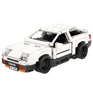 BuildMoc Technic серия Тойота Супра дорога Vehile модель строительные блоки Совместимые Lepining Рождественский подарок игрушка
