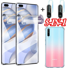 100D Curved hydrogel film case For honor 30i Screen Protector for huawei honor30i full cover camera film honor 30 i soft glass