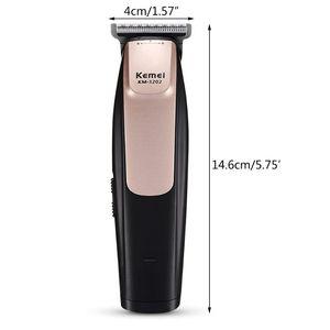 Image 1 - Kemei KM   3202 USB قابلة للشحن الكهربائية مقص الشعر المتقلب تصفيف الشعر صالون حلاقة المنزل