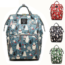 Get more info on the [NEW]Diaper Bag Mini Bear Hand Painted Cartoon Waterproof Nappy Bag Baby Care Travel Backpack Maternity Bag