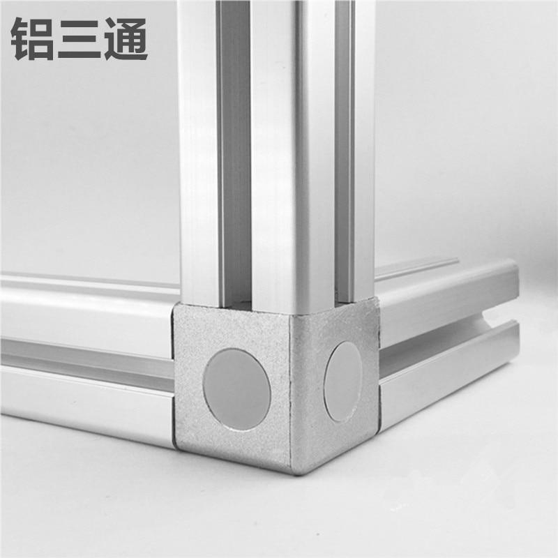 4 шт. 1530 2020 3030 4040 4545 алюминиевый угол куба соединитель крепеж подходит для использования алюминиевый профиль