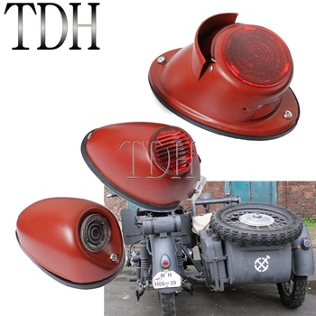 Motorcycle Replica Classic Taillights Brake Stop Lamp Ural Sidecar Indicator Lighting for BMW K750 KS750 DB DS M72 R75 Zündapp motorcycle ural sidecar handlebar throttle grip hand grips accelerator control twist grip for bmw k750 ks750 r50 r1 r12 r71