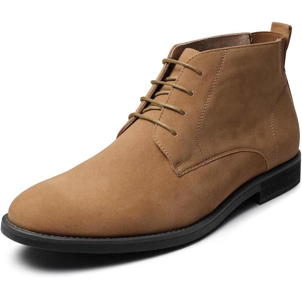 ZUSIGEL บุรุษผ้าใบรองเท้า Casual Oxfords หนังวัวสูงฤดูใบไม้ผลิฤดูใบไม้ร่วงฤดูใบไม้ร่วง LACE-up รองเท้าผ้าใบคลาสสิกรองเท้า US ขนาด 8-13