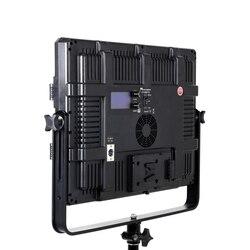 Falconeyes 140W Photography Equipment Bi-color LED Studio Video Panel Light Professional Light For Film/Movie DC LP-2805TD