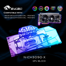 Ichill-Graphics-Card-Block Water-Cooling-Block Bykski N-ICH3090-X INNO3D 3080 GPU