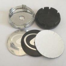 4 pçs 56mm 60mm 62mm 65mm 68mm centro da roda emblema do carro hub tampas emblema tampas etiqueta da roda acessórios de estilo do carro