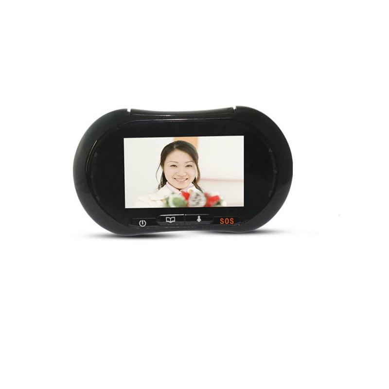 ROLLUP IHOME3 WiFi Door Screen Viewer Video IP Door 3.7 Inch Monitor Door Display Video Photo Taked Shipping Only Door Screen