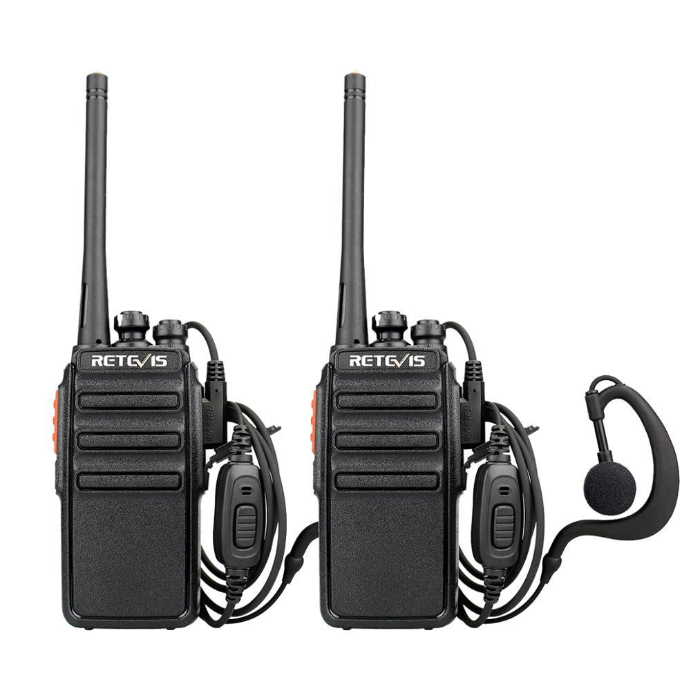 Retevis RT24 PMR Radio 2pcs Walkie Talkie PMR446 Walkie-Talkie 0.5W Portable Radio Stations UHF 446MHz Transceiver Comunicador
