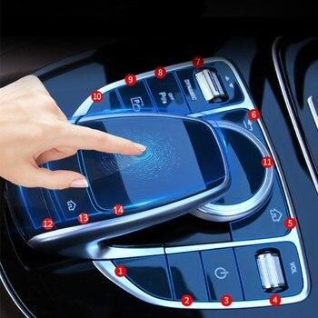 Car Center Console Multimedia Mouse Button Protector...