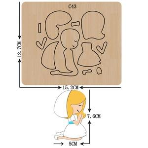 Image 1 - 新しい天使木製ダイスクラップブッキング C 43 切削ダイス