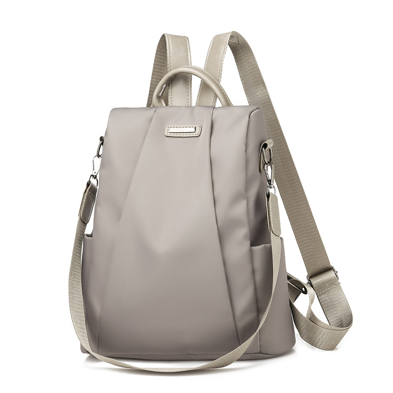 2019 Hot Women's Anti-theft Backpack Casual Oxford Solid Color School Bag Fashion Detachable Shoulder Strap Travel Shoulder Bag