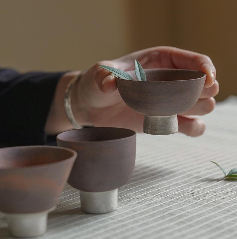 LUWU ceramic teacups tea cup porcelain chinese kung fu cup drinkware