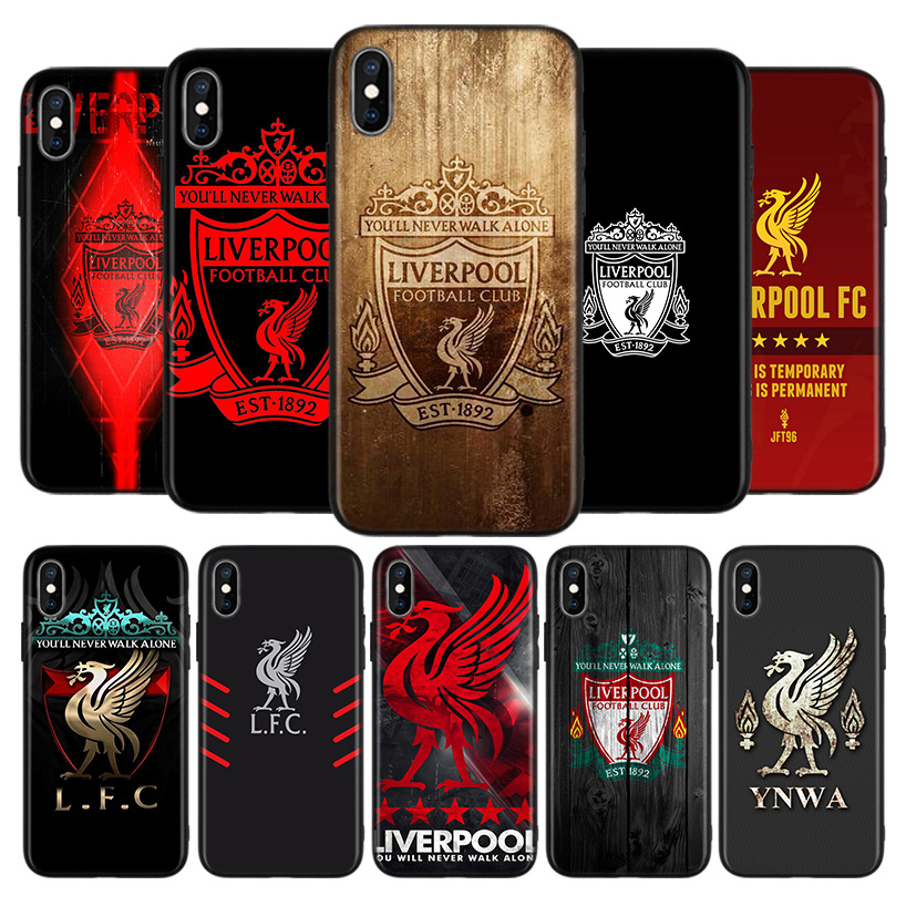 Hot Liverpool Club Black Case for Apple iPhone 11 Pro XR 7 8 6 6S Plus X XS MAX 5 5S SE Soft TPU Silicone Phone Cover Case