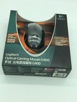 100%original Logitech G400 Optical Gaming mouse wired professional player brand gmaing mouse with retail package