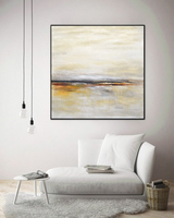 Large Wall Art Canvas Painting Abstract Painting Landscape Artwork Modern Oil Painting Fine Art Horizon Handmade Painting Art