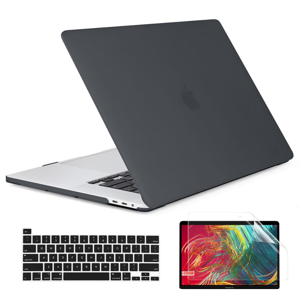 Crystal Transparent Hard Case Protect For New Macbook Pro 16 Inch 2019 A2141 With Touch Bar/Touch ID +keyboard Cover