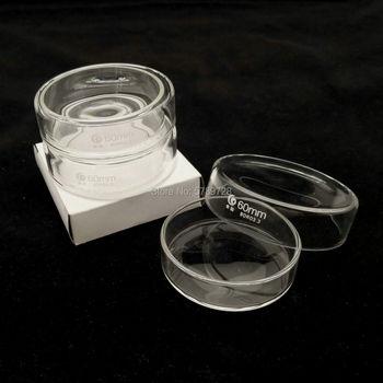 5 szt 60mm szkło borokrzemianowe naczynie petriego do laboratorium chemicznego drożdże bakteryjne tanie i dobre opinie