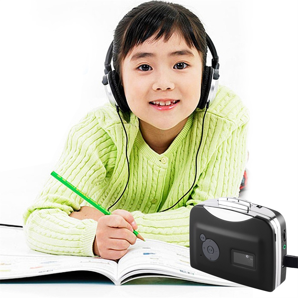 EzCap230 Кассетная лента в MP3 конвертер конверсионный плеер с воспроизведением отдельно подключи и играй маленький размер портативный