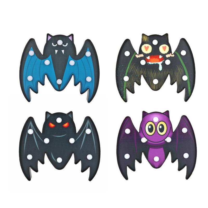 Halloween Led Light Bat Ghost Animal Marquee Sign LED Light Wall Hanging Night Lamp Halloween Decor