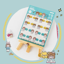 Kawaii stationery cute index stickers pet separator page stickers hand account diy decoration stickers mark stickers
